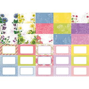 Picture of Pocket Floral Flourish Journal Cards by Katie Pertiet- Set 30